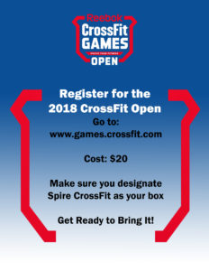 Crossfit Open 2018 Sign Up Now Inspirfit